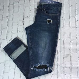 Gap distressed always skinny jeans 31/12